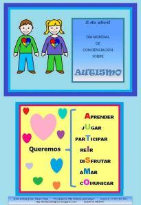 cartel autismo